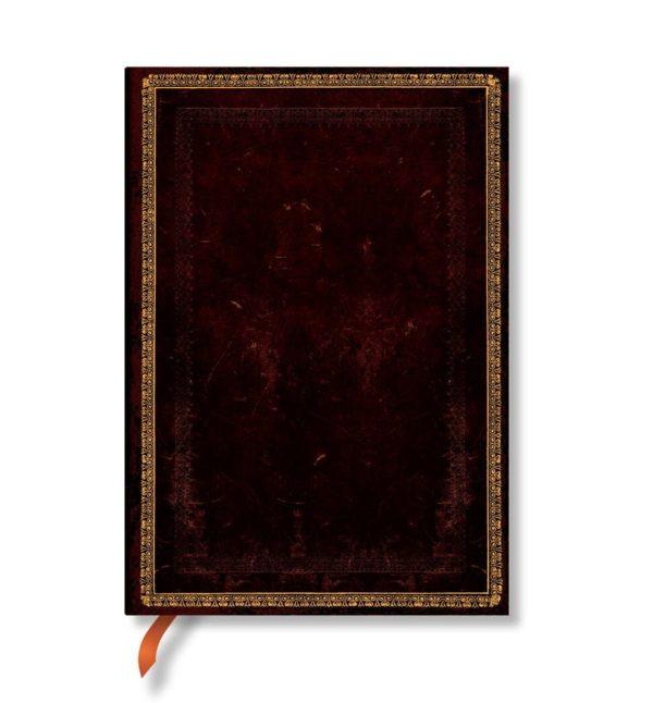 Caderno + Estojo Black Moroccan Midi 2