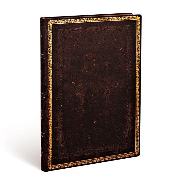 Caderno + Estojo Black Moroccan Midi 3