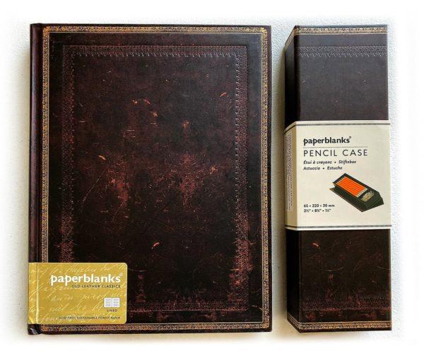 Caderno + Estojo Black Moroccan Ultra 1