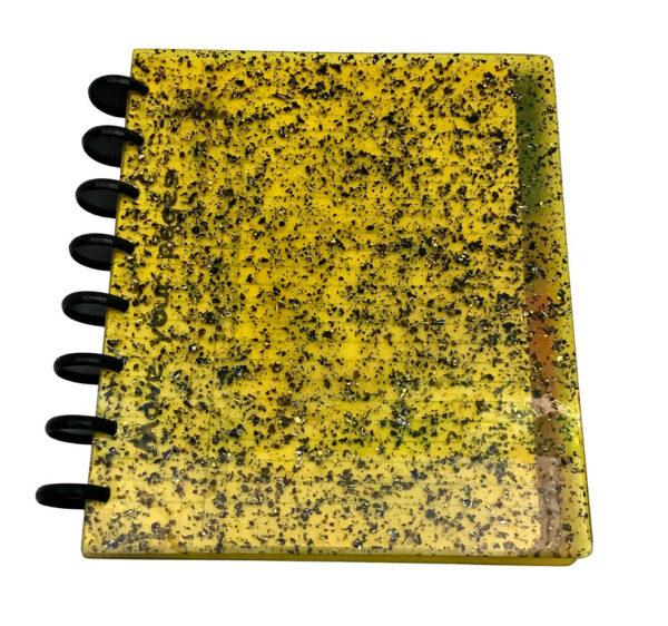 Atoma Gloss Unique - Glitter Amarelo 1