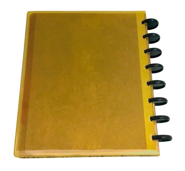 Atoma Gloss Unique - Glitter Amarelo 2