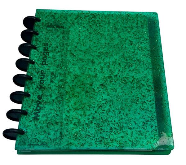 Atoma Gloss Unique - Glitter Verde 1