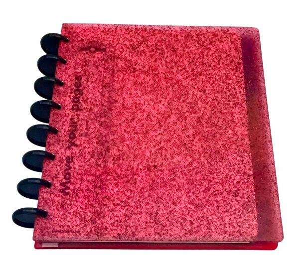 Atoma Gloss Unique - Glitter vermelho 1