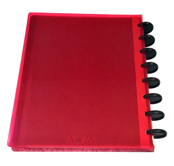 Atoma Gloss Unique - Glitter vermelho 2
